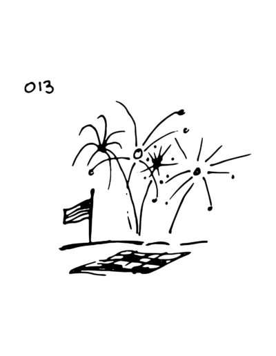 Day 13: Fireworks and Concert